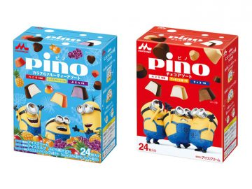大人気アイス「ピノ」とミニオンがコラボ! 新作フレーバーの「ミックスフルーツ」に注目!