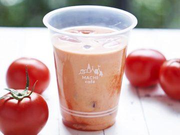 夏バテ対策に最適! ローソンから高リコピントマトを使った「MACHI cafe トマトラテ」が登場