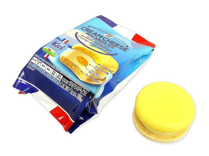 「セブンプレミアム クリームチーズマカロンアイス」238円