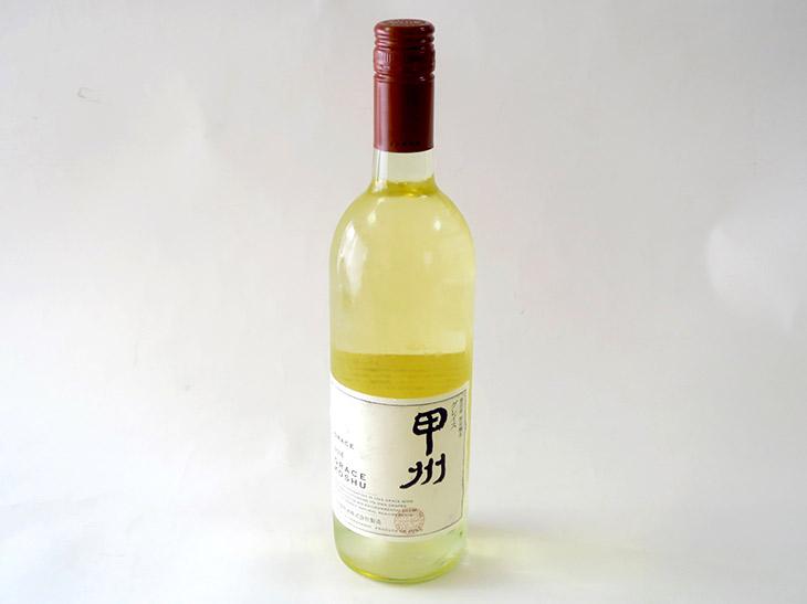 「グレイス甲州2016」(2,700円)は辛口の白ワイン。香りは華やかで、全体的なバランスがいい