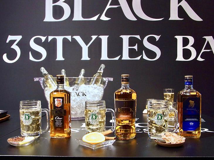3つのスタイルでウイスキーが楽しめる! 期間限定バー『BLACK 3 STYLES BAR』の楽しみ方とは?