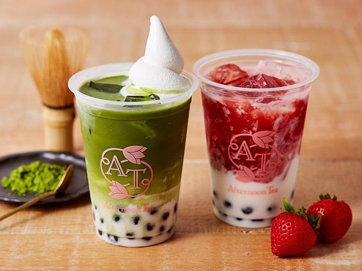 表参道『Afternoon Tea Love&Table』に、タピオカドリンクのテイクアウトスタンドがオープン!