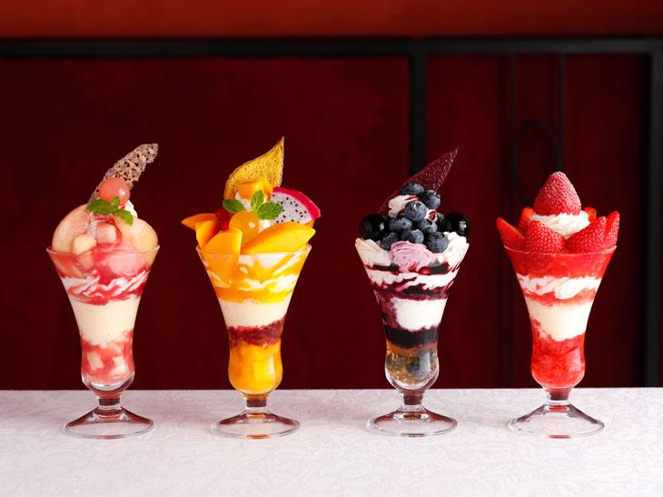 食べる宝石! 資生堂パーラーで食べたい至極のパフェ4選