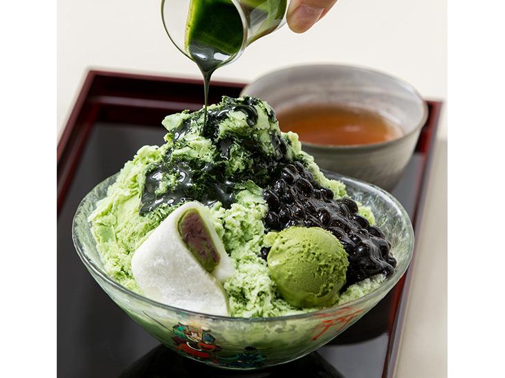 東京駅で1日限定20食『京都 福寿園茶寮』の「宇治茶のかき氷」が味わえる!