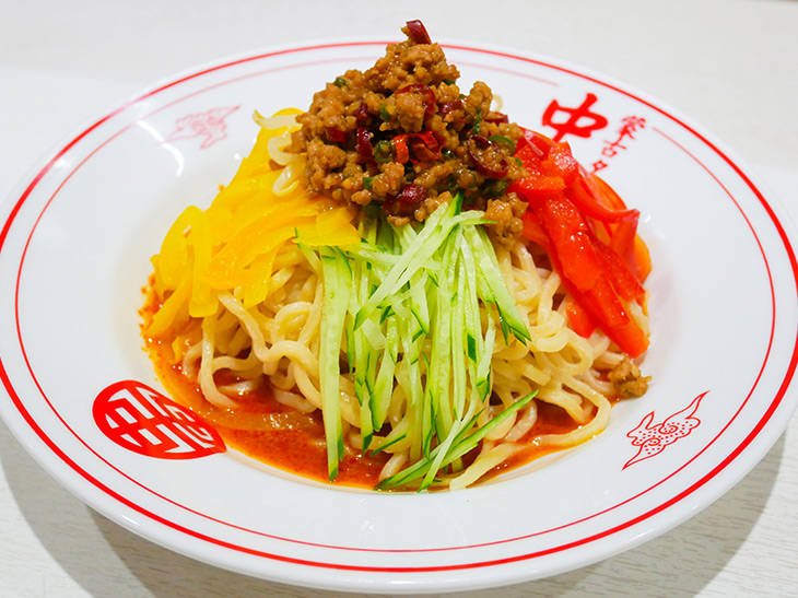 蒙古タンメン中本×食楽のコラボ麺が登場! 旨みと辛みが織りなす激ウマ冷し麺とは?