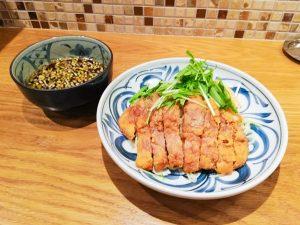 「排骨つけ麺」980円