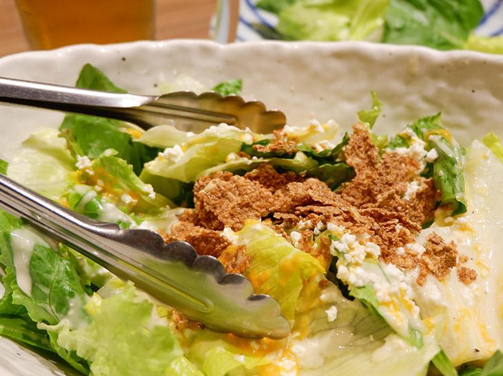シーザーサラダは鍋の箸休めにぴったり