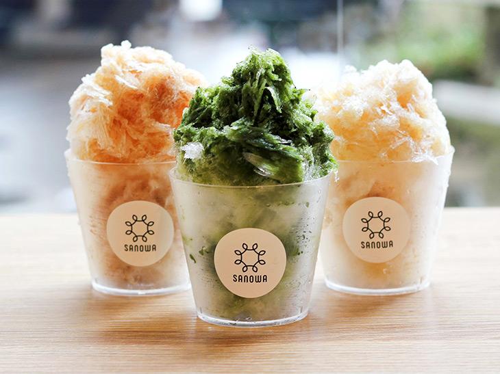 静岡茶氷三昧(700円)