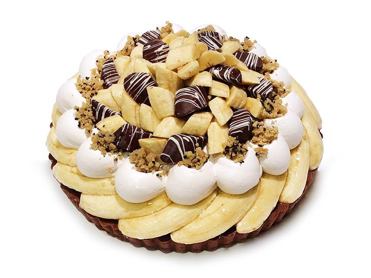 8月7日はバナナの日! 『カフェコムサ』に絶品バナナケーキが6種登場