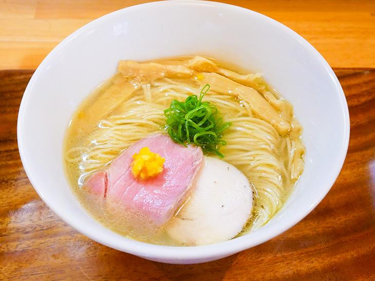 「柚子塩らぁ麺」800円