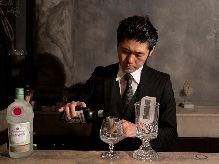 オーナーの佐藤博和さん。「非日常の時間を楽しんでいただきたいですね」