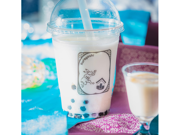 「甘酒タピオカミルク」600円