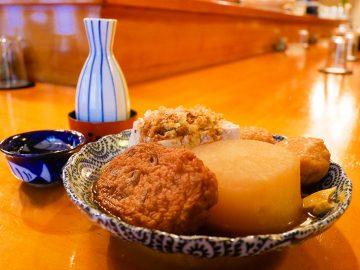 国宝級! 神田の老舗おでん屋『尾張家』で、名酒と絶品おでんを堪能してきた