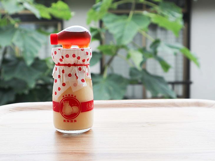 「熱海プリン 特製カラメルシロップ付」350円