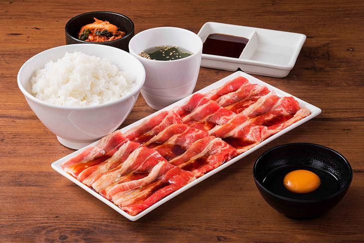 「牛すき焼肉セット(生卵付)150g」(通常840円)