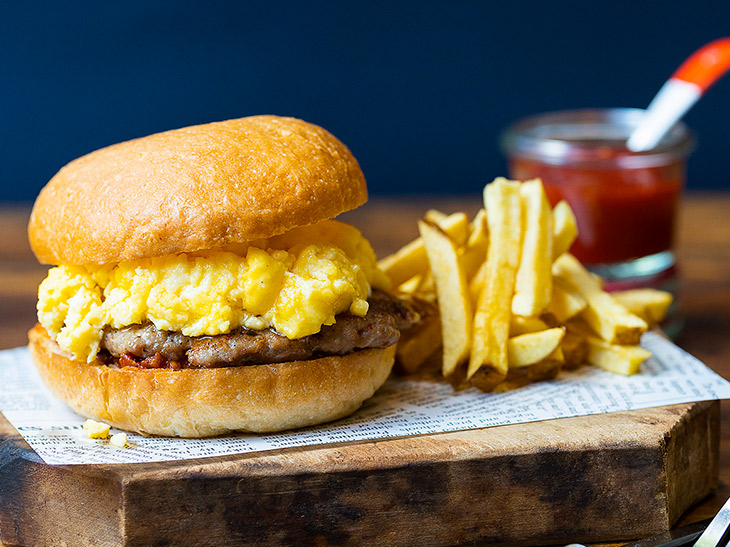 "NY発『egg』が提案する朝食の新定番""モーニングバーガー""とは?"