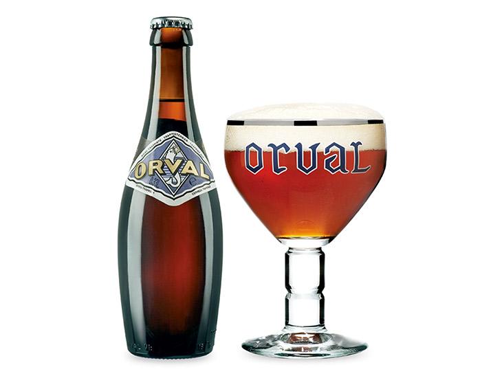 オルヴァル トラピスト・ビール ALC. 6.2%(コイン4枚)