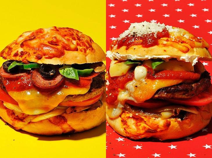 ハンバーガー専門店が本気で作る「ピザバーガー」が限定販売スタート!