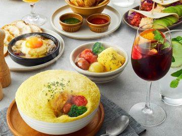 ふわふわ食感がたまらない! 窯焼きスフレオムレツ&クレープ専門店『イエローマークス』が渋谷に登場