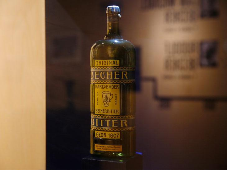 今の原型となった、二代目が作ったボトルも展示されている