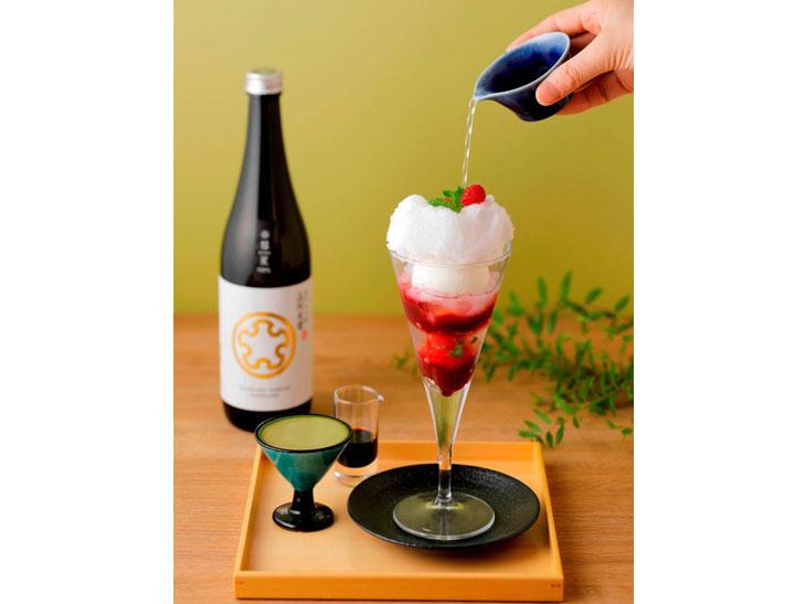パフェ 日本酒 1600円