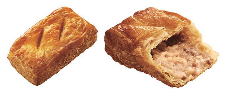 ホット・セイボリーパイ チキンときのこのクリームシチュー