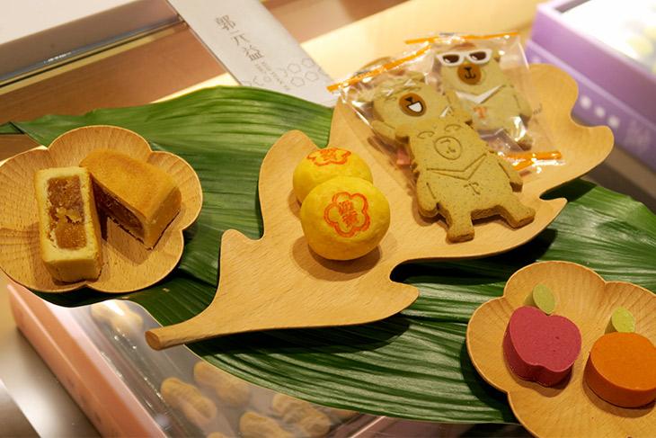 グォユェンイーが海外に出店するのは初のこと。台湾らくがんやパイナップルケーキなどの定番商品に加え、モダンなお菓子も取り扱う