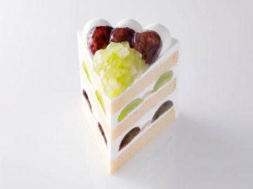 1切れ3000円!?「新エクストラスーパーグレープショートケーキ」がホテルニューオータニに登場