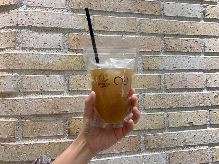 アイスでなければ出せない味わい。「珈茶」580円