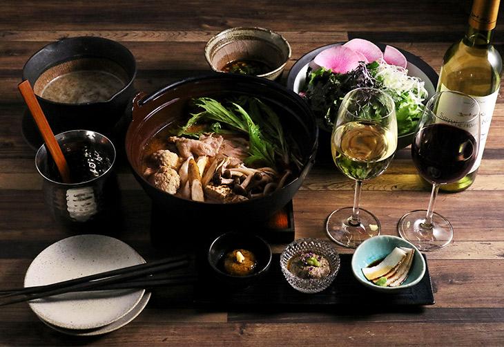 自然薯とろろ料理×お酒を楽しむディナータイム
