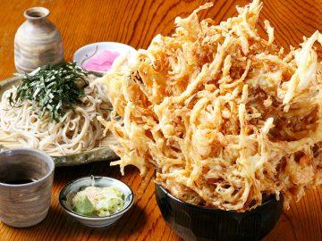 約25cm! 埼玉・東飯能『福六十』の超巨大「かき揚げ定食」を食べてきた