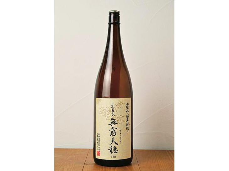 食事と寄り添ってくれる板倉酒造の「無窮天穏」950円は、食中酒にぴったり