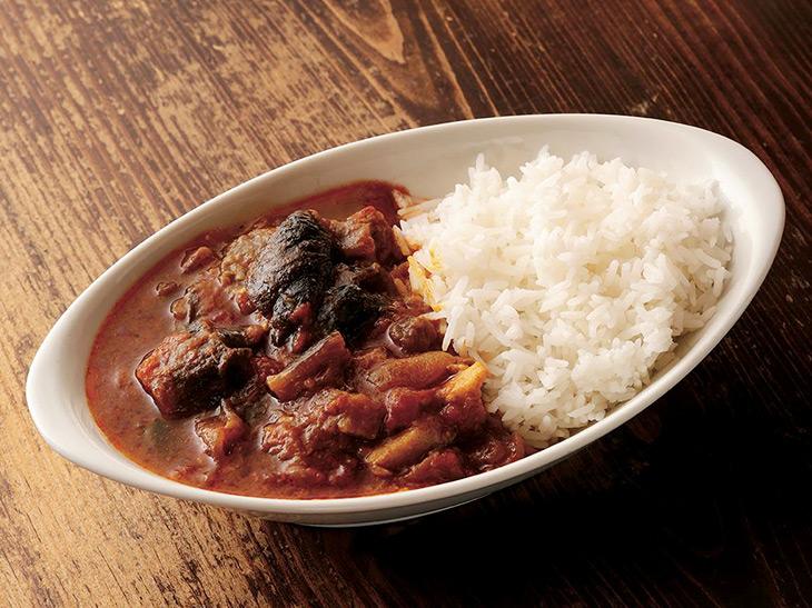 ハバネロで辛味を付けた煮込み料理「豚のコロンボ」1500円が看板メニュー