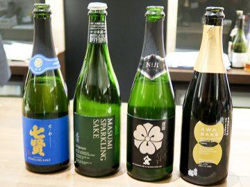 シャンパン感覚で飲んでみる? 話題の「スパークリング日本酒」4種類を飲み比べてみた