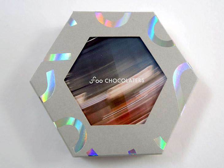 「3種ギフトボックス」(2800円)は、カシューミルクチョコレート、ホワイトチョコレート、ほうじ茶チョコレートのセット