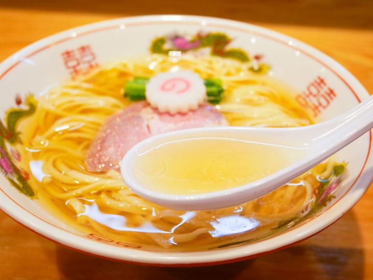 研ぎ澄まされた旨味が特徴の極上スープ