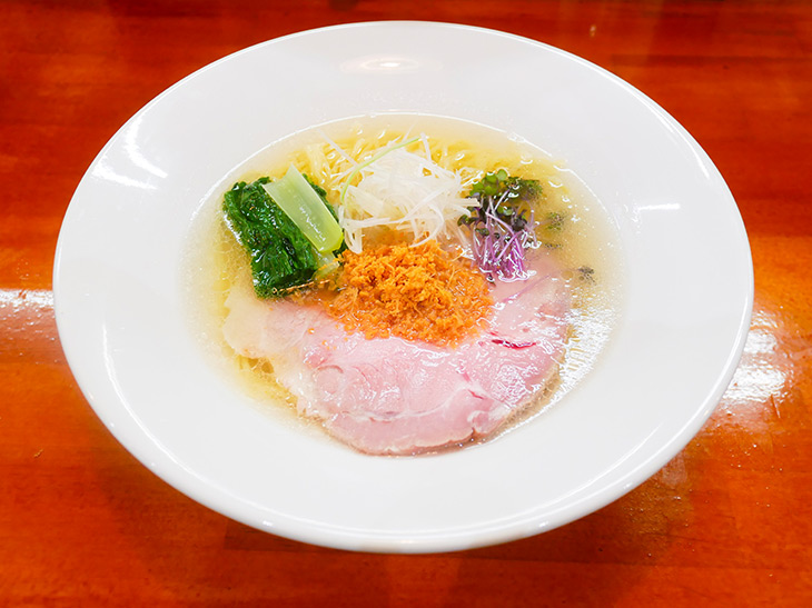 ホタテとチーズの麺道旨塩らーめん(780円)