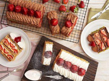 毎年1万食以上を売り上げる! 「KIHACHIのナポレオンパイ」が今年も期間限定販売