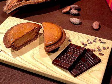 BAKEがチョコブランド「Minimal」と初コラボ! バレンタイン限定「焼きたてチョコレートチーズタルト」を食べてきた!