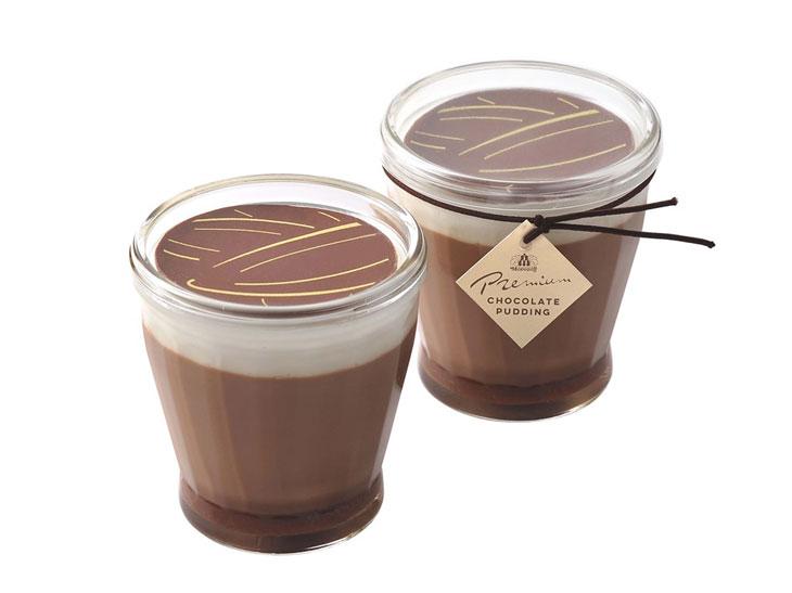濃密プレミアムチョコレートプリン450円