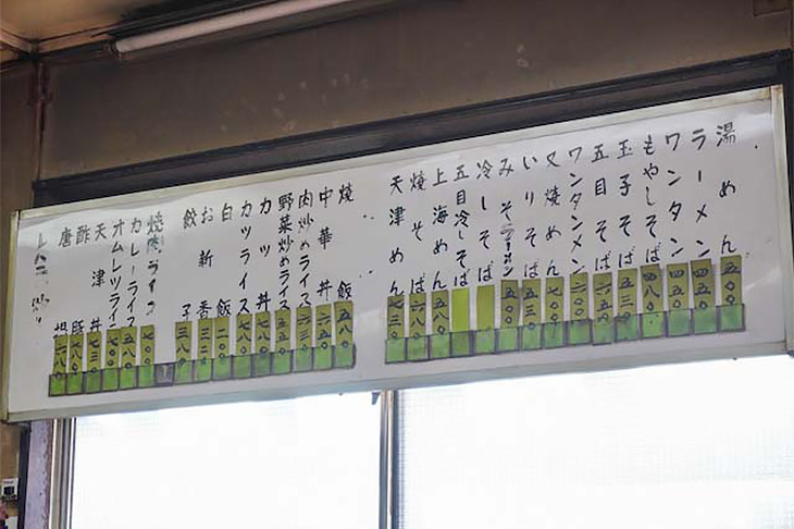 名物の「オムライス」(650円)も壁メニューにはありませんが、「カツカレー」と同様、「オムライス」と言えば出てきます