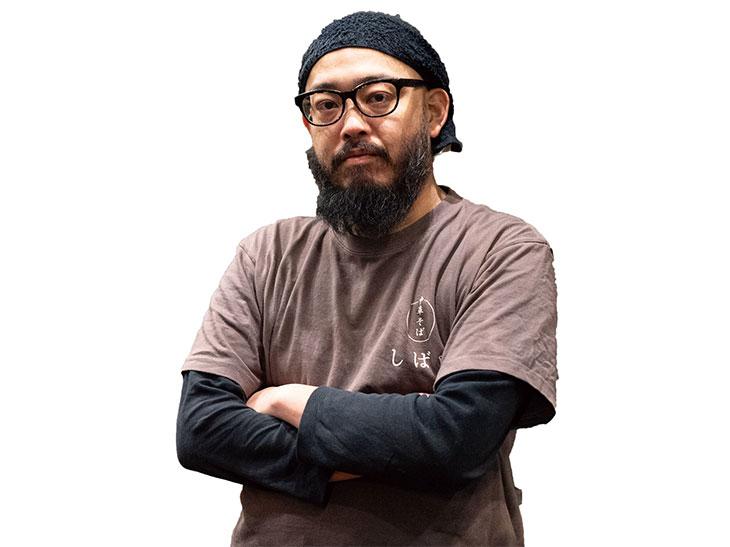 『中華そば しば田』の店主、柴田貴史氏