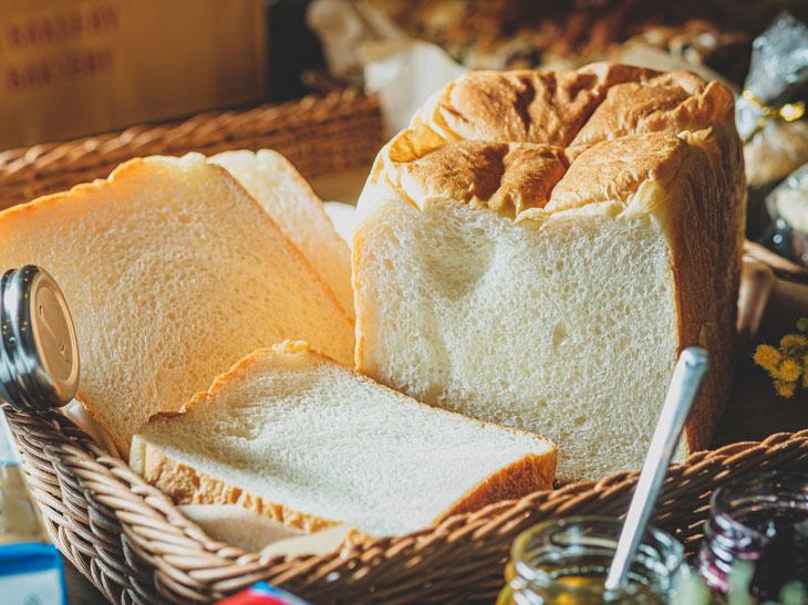 「ゆめちからもちもち生食パン」(2斤サイズ)880円