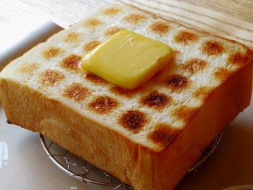 密度が高くきめ細かいのが、ペリカンの食パンの特徴