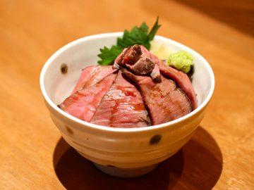 新感覚! 渋谷の寿司屋が本気で作った「シャリdeローストビーフ丼」とは?