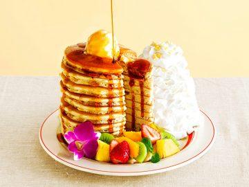 日本上陸10周年! 10枚重ねのパンケーキが『Eggs'n Things』に登場