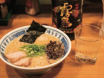 新宿のラーメンで呑む! サニーデイ・サービス田中貴が提唱する「ラ飲み」の流儀とは?