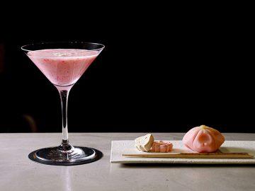 渋谷パルコ『未来日本酒店/KUBOTA SAKE BAR』に春を感じるカクテル&和菓子が登場