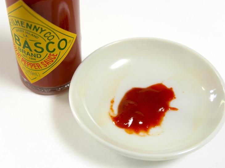 スコヴィル値は1200~1800。ハラペーニョとオリジナルソースの中間くらいの辛さ