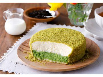 今だけ! チーズケーキの超人気店『ルタオ』から「宇治抹茶のミルクドゥーブル」が登場